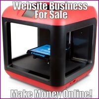 3D PRINTERS Website Earn $883.15 A SALE FREE Domain FREE Hosting FREE Traffic