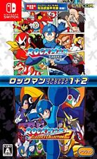 New Nintendo Switch Rockman Megaman Classics Collection 1+2 Japan 4976219093781