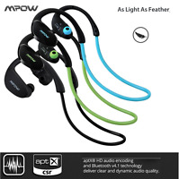 Mpow Cheetah Sport Bluetooth 4.1 Wireless Stereo Headset F/S for iPhone Samsung