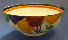 Hancock's Ivory Ware Hand Painted Suagr Bowl