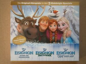 Die Eiskönigin - 3 Original-Hörspiele zu den 3 Eiskönigin Specials, 2 CD-Set
