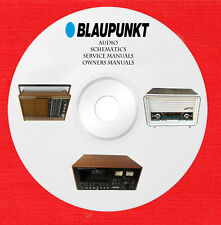 Blaupunkt Audio car radio Repair Service owner manuals on 1 dvd in pdf format