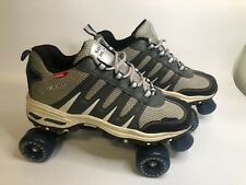 Rc Sports Sonic Cruiser Softmax Mesh Gray Roller Skates Shoes Men's Us Size 11