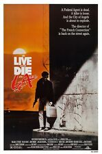 TO LIVE AND DIE IN L.A. (1985) ORIGINAL MOVIE POSTER  -  ROLLED