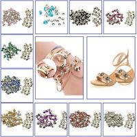 Diamante Strass Borchie 10mm Rivetti 10pcs 50pcs Per Leathercrafts Tessuto Orlo