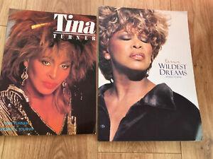 2 X Tina Turner 1990's Tour Programmes.