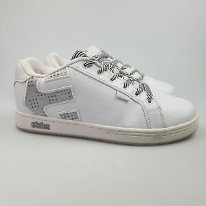 Women's ETNIES 'Fader' Sz 9 US Shoes White VGCon Skate Casual   3+ Extra 10% Off