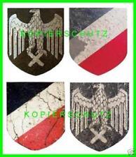 4 decals Abziehbilder Stahlhelm Abzeichen wasserlösliche Helmabz. M 35 M 40 M 42