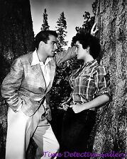 Elizabeth Taylor with Montgomery Clift (1) - Celebrity Photo Print