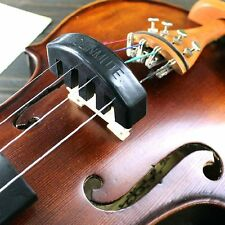 Corda di Violino Muto pratica professionale 4/4 - Alta Qualità Gomma (Nero)