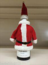 Flaschenverpackung Flaschendeko Weihnachtsmannkostüm Flaschen Nikolaus Wichteln