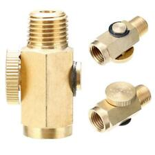 1/4'' NPT Inline Regulator Solid Brass Compressed Air Pressure Valve Tack.US