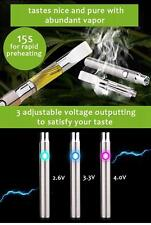 Silver RX Slim Pen Battery 510 Thread Variable Voltage Absolute Xtracts