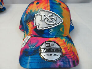 New Era 2020 Kansas City Chiefs Men's NFL Crucial Catch Hat Cap 39THIRTY M/L