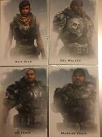 Gears Of War Collectors Postcards, Set Of 4, GOW5.
