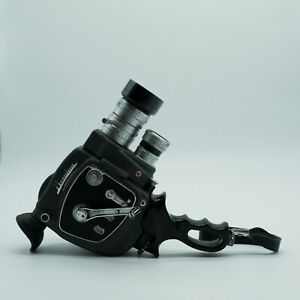Beaulieu MR8 Reflex Control Double 8mm Film Camera - Motor working
