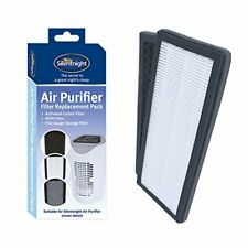 Silentnight 38063 Set of Replacement Filters for Air Purifier, Hepa