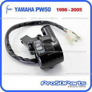 Yamaha 1998-2005 PW50 PeeWee50 Throttle Switch Housing Lever Holder