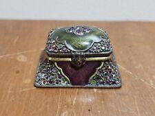 Jay Strongwater Mini Treasure Chest Trinket Box