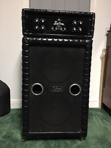Vintage Kustom 200B Amp And Speakers