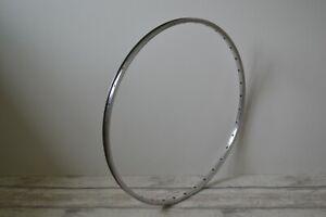 Vintage Rigida 15/21 Alloy Wheel Rim 36 Holes 17 x 622 700c Silver
