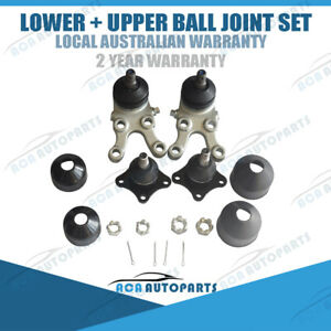 For Mitsubishi Pajero NL NK NJ NH SET Front Upper Lower Left & Right Ball Joints