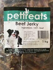 Beef Jerky Dog Treats 1kg Dental Chews Real Beef Cow Snacks Reward Pet Food
