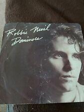 "ROBBIE NEVIL ~ Dominoes (UK 7"" SINGLE VINYL 1986)"