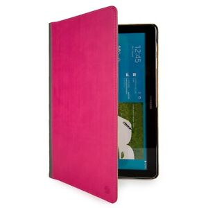 """Leather Tablet Stand Case Cover For Samsung Galaxy Tab 4 10.1"""" SM-T530 / SM-T531"""