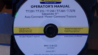 NEW HOLLAND T7.220-7270 TRACTOR OPERATORS MANUAL ON CD CD24