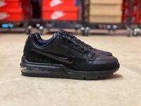 Nike Air Max LTD 3 Low Mens Leather Running Shoes Triple Black 687977 020 Multi