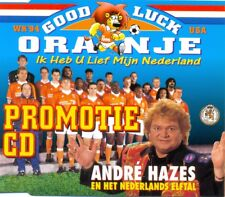 ANDRE HAZES - Good luck Oranje 13TR PROMO CDM 1994 POP / Holland / Football