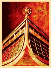 GLASS HOUSES : SCREEN PRINT : SIGNED/NUMBERED : OBEY : SHEPARD FAIREY