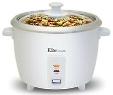 Automatic Electric Rice Cooker Keep Warm Makes Soups Hot Cereals White New