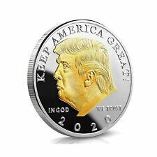 Donald Trump 2020 Challenge Coin Keep America Great United States Presidentia...