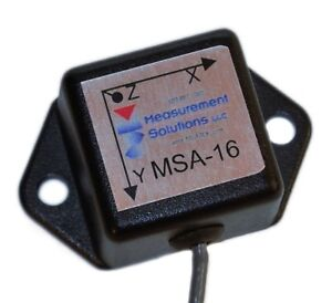 3 Axis Accelerometer, Vibration Sensor, MEMS, replacement for Crossbow