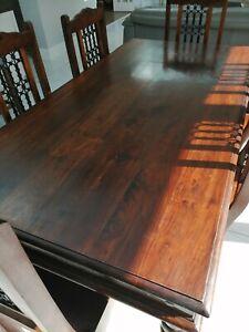 Maharani Wooden Dining Table