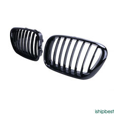 For BMW E53 X5 X 5 Pre-Facelift Black Kidney Sport Front Grill SUV 1999-2003 New