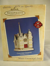 2002 Hallmark Country Church Magic Collector's Series