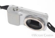 Sony Alpha NEX-3 Mirrorless 14.2mp Digital Camera Body (Silver)