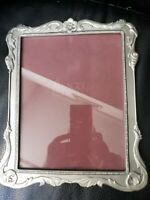 Pre-owned Large SEAGULL Canada Pewter Art Nouveau style Picture Frame