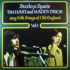 LP Steeleye Span's TIM HART / MADDY PRIOR - sing folk songs of old england vol 1