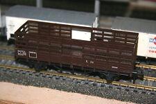 HO, HORNBY MECCANO, wagon SNCF transport de bétail