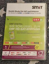 Smit ORF HD CI+ Kombi Cam Modul DVB S2 Astra Sat + T2 Antenne simpliTV