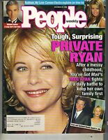 MEG RYAN People Magazine 12/21/98 CARMEN ELECTRA MONICA KEENA MICHAEL ZASLOW PC