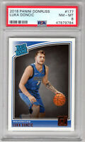 **Luka Doncic** 2018 Panini Donruss #177 RC Rookie PSA 8 NM-MT!!