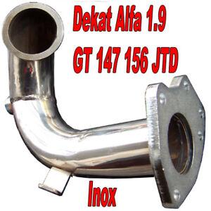 DOWNPIPE INOX ALFA 1.9 JTD 147 156 GT BRAVO STILO MAREA LYBRA T11
