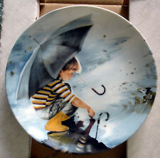 1982  PEMBERTON & OAKES WONDER OF CHILDHOOD COLLECTOR PLATE - TOUCHING THE SKY