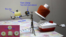 STANDARD SIZE WOOL YARN WINDER wax stand and Yarn clamp has tightness controlle