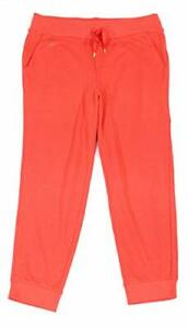 Ralph Lauren Womens Logo Jogger Sweatpants Orange M